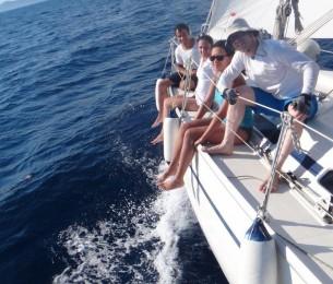 sailing race vacation Croatia